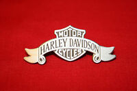 HARLEY DAVIDSON OLD SCHOOL CLASSIC   PIN *** BANNER WITH SHIELD
