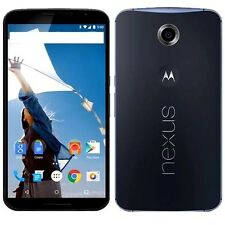 MOTOROLA GOOGLE MOTO NEXUS 6 MIDNIGHT BLUE 32GB SIM FREE UNLOCKED UK