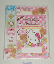 """VERY CUTE! 2012 Sanrio HELLO KITTY """"Biscuits"""" Stationery Set from JAPAN! NEW!"""