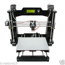 Dual Extruder Prusa I3 3D Printer DIY KIT 2-in-1-out Mix Color 280x210x200mm