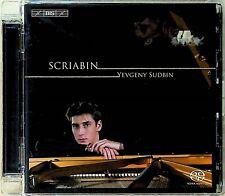 YEVGENY SUDBIN- Scriabin: Piano Works Sonata No.2/5 Etudes etc SACD Bis 2007 cd