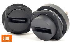 JBL 2405H Pro Series Slot Tweeter Pair Genuine JBL Diaphragms S/N: 31326 / 31327