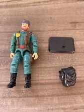 "Vtg 1992 GI Joe 3.75"" Big Bear Action Figure W/ Backpack And Stand"