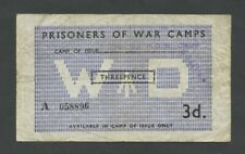More details for british p.o.w. 3d  wwii  camp 93 c5015a  banknotes