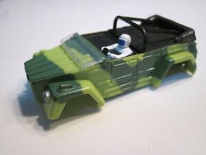 SLOT CAR HO/TOMY/TYCO/AFX/AURORA CARROSSERIE(SEULE) TJET VW THING VERTE NEUVE