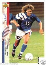 1994 Upper Deck World Cup USA '94 English/Spanish Contenders Michelle Akers #267