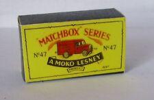 Repro Box Matchbox 1:75 Nr.47 Trojan Van