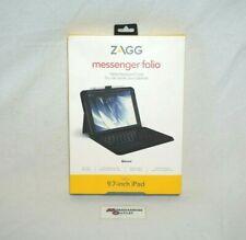 "ZAGG Messenger Folio Tablet Keyboard Case for 9.7"" iPad"