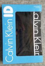 CALVIN KLEIN ID Mens Boxer Brief Black Size L (91-97cm) 95% Cotton BRAND NEW tag