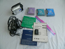Sony HandyCam DCR-DVD108 Mini DVD Camcorder Nightshot 40 Optical Zoom Carl Zeiss