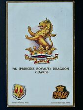 More details for regimental badges 7th princess royal dragoon guards postcard gale & polden 1710