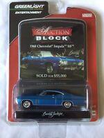 Greenlight  Barrett Jackson Auction Block 68 1968 Chevy Impala SS Diecast 1/64