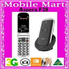 ASPERA F28◉UNLOCKED◉FLIP◉3G◉SENIORS◉BIG BUTTON◉SOS◉BLUETOOTH◉FREE CRADLE◉HAC T4◉