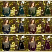 Anarkali Ethnic Pakistani Designer Salwar Kameez Indian Dress Bollywood Suit