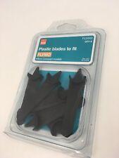 GENUINE FLYMO FLY011 PLASTIC BLADES MINIMO DUO MINIMO E400 DUO PACK OF10 BNIP UK