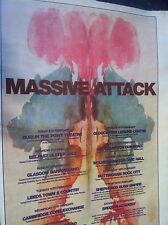 < MASSIVE ATTACK - UK TOUR DATES 1998 - FULL PAGE ADVERT small poster