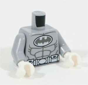 NEW LEGO ARCTIC BATMAN TORSO PART X1 DC BLUISH GREY BATMAN MINIFIGURE PART ARTIC