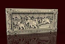 3d STL Model CNC 195 (Elephants) Router Engraver Carving Machine Relief Artcam