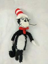 "Manhattan Toys Cat in the Hat Finger Puppet Plush Dr Seuss 7"" Stuffed Animal Toy"