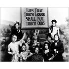 Lips that Touch Liquor Prohibition Temperance photo Old Women's Lib Vintage 8x10