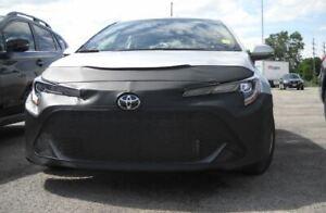 Lebra Front End Mask Cover Bra Fits 2019-2021 TOYOTA COROLLA Hatchback SE, XSE