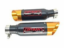 Suzuki Hayabusa  GSXR1300 1999-2001 2002-2004 2005-2007 Coffman Shorty Exhaust