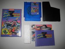 Mega Man X Street Fighter NES Press Kit Nintendo CIB Manual Box CD New