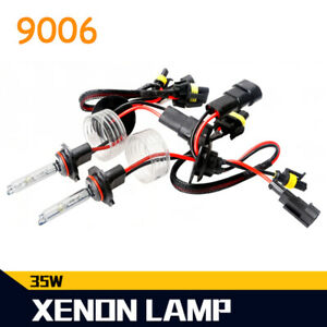 35W 9006 HB4 Xenon HID Headlight Light Bulbs 4300K 6000K 8000K 12000K White Blue
