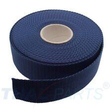 10m Gurtband 15mm Breit ca 1,6mm stark blau Polypropylen Taschengurt