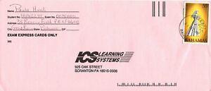 Bahamas -1997 Christmas, 55c Madonna & Child Commercial  Cover - Freeport Cancel