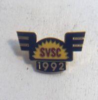 1992 SVSC Sun Valley Ski Club Pin Pinback Vintage Collectible