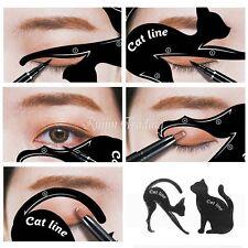 Multifunction Cat Line Eye Makeup Tool Eyeliner Stencils Template Shaper Model