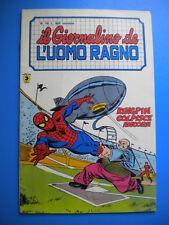 § IL GIORNALINO DE L' UOMO RAGNO n. 16 - ED. CORNO 1982 !! EDICOLA !!