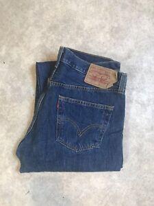 Jean Levis 501 Vintage Taille Haute W36 L30 Taille 46