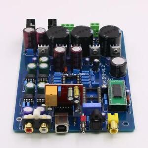 Assembled CS8412 +NE5534 DAC TDA1541 Fiber Coaxial Decoder Board With USB