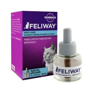 Feliway Calming Pheromone for Cats - 48ml Refill Bottle for Plug in Diffuser