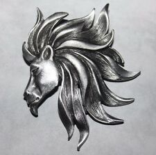 J.J. signed LARGE LION HEAD PIN-MINT AND STUNNING!!!!!!!!!!!!!