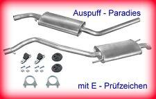 Abgasanlage Auspuff Schalldämpfer VW T4 Bus/Kasten 2.5 Lang / LWB bis 12/95 +Kit