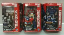 R.E.D. Transformers Full Set Of 3 Soundwave Optimus Prime Megatron Walmart Exc