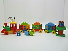 LEGO DUPLO 10558 My First Counting Number Numbers Train set