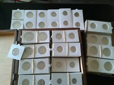 100 étuis carton pour pièces de monnaies (4 x 25 =100 pièces)Neuf