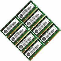 Memory Ram 4 Laptop DDR PC 3200 400 MHz 200 pin SODIMM Non-ECC CL2.5 2.5V 2x Lot