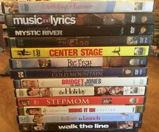 13 DVD Lot Movie Night Romantic Comedy, Drama, VGC