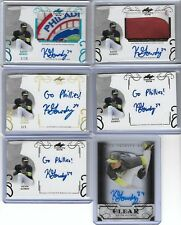 2016 Leaf Trinity KEVIN GOWDY Inscription Bronze Prismatic RC Auto Go Phillies