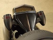 TRIUMPH T120 T100 BONNEVILLE BLACK TAIL LIGHT/SIGNAL TIDY BOLT ON KIT CAFE RACER
