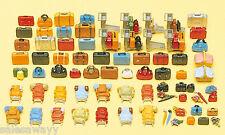 Preiser 17005 Equipaje, 90 partes, kit construcción, H0