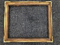 ANTIQUE  NEWCOMB MACKLIN HAND CARVED ARTS & CRAFTS FRAME, FITS 25X30""