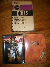 2007 THE PIRATE BARBIE GOLD LABEL
