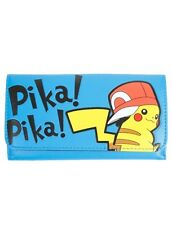 Pokemon Wallet Pikachu Pika! Pika! Flap Wallet Trifold New With Tags!