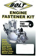 Engine Bolt Fastener Kit Honda CR 125 1990-2007 CR125 Bolts Nuts